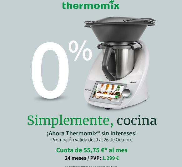 Tu Thermomix® al 0%