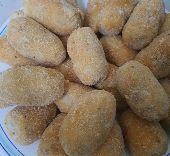 Croquetas de cocido con Thermomix®