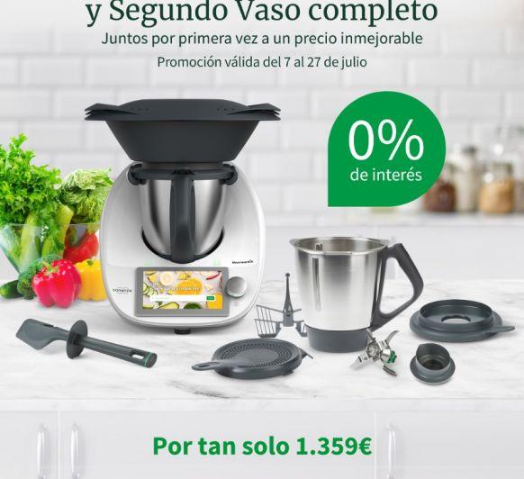 Thermomix® Tm6 al 0% de intereses y con doble vaso; Sevilla (Dos Hermanas)