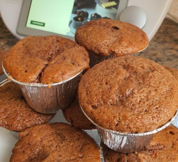 Muffin de chocolate con Thermomix®