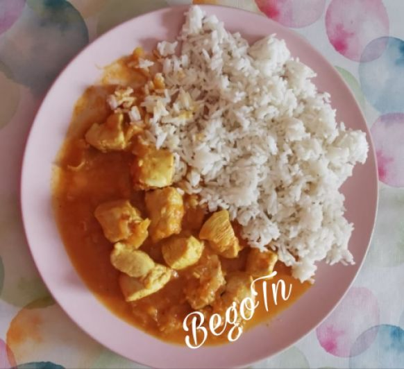Pollo al curry en Thermomix®