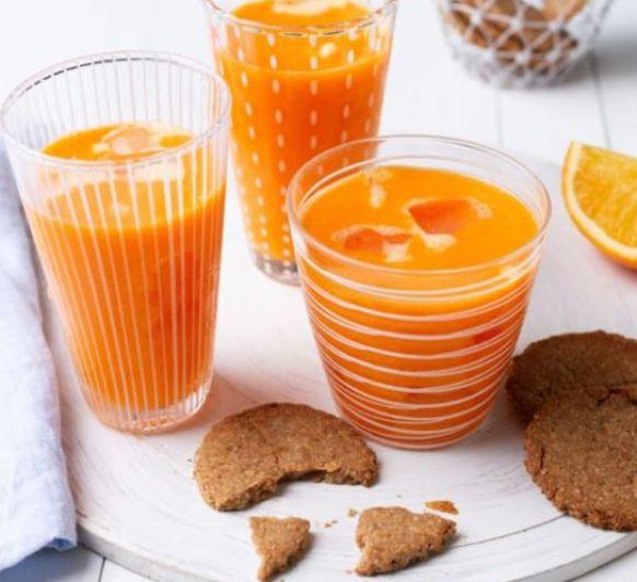 Zumo de naranja y zanahoria en Thermomix®