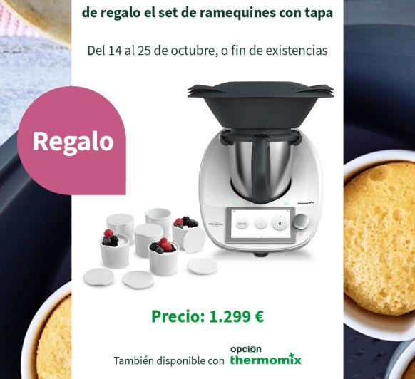 Thermomix® TM6 CON REGALO SET DE RAMEQUINES