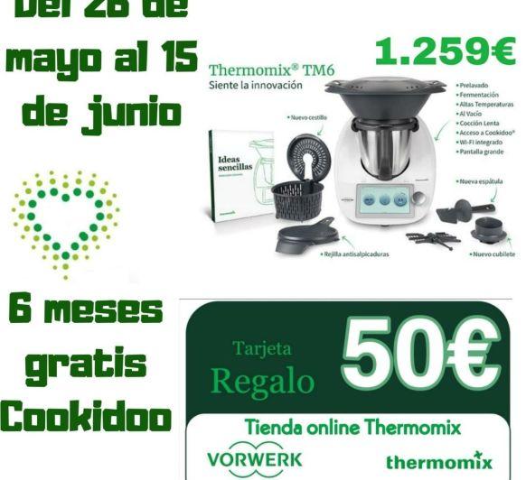 Thermomix® tm6 + tarjeta regalo de 50€