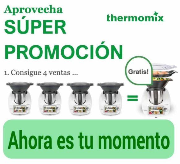 ¿Quieres tu Thermomix® TM6 sin pagar?