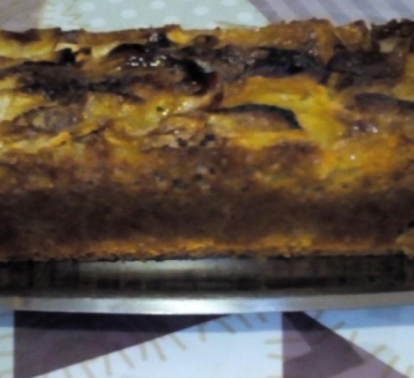 Bizcocho de Manzana sin Azucar