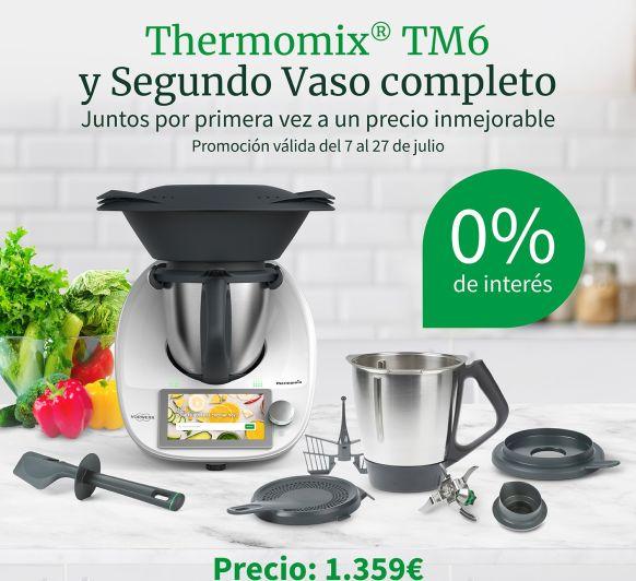 Thermomix® TM6 y Segundo Vaso Completo al 0% de interés