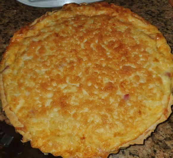 Quiché de quesos y beicon con Thermomix® ; Sevilla (Dos Hermanas)