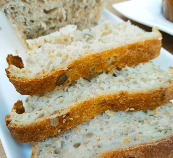 Pan de cinco semillas en Thermomix®