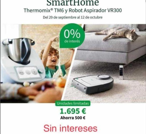 EDICIÓN SMARTHOME: Thermomix® TM6 + ROBOT ASPIRADOR VR300