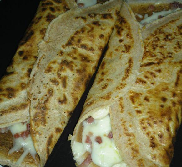 Crêpes de jamón y queso con Thermomix®