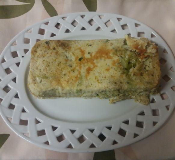 Fritatta de brócoli con hierbas aromáticas