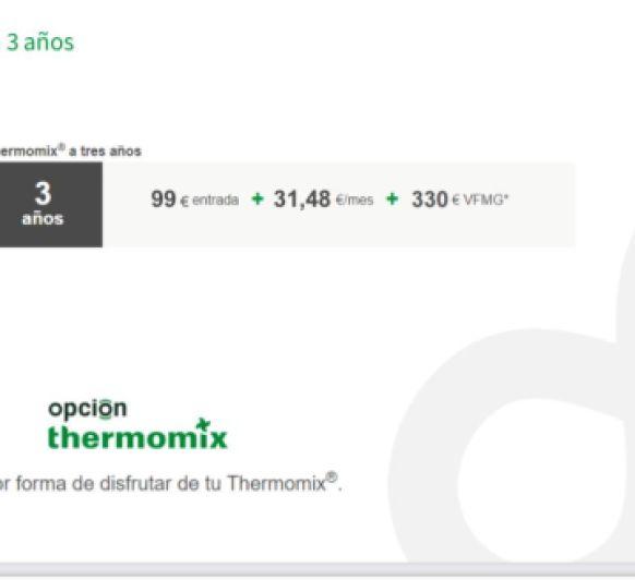 ¿En que consiste Opción Thermomix® ?