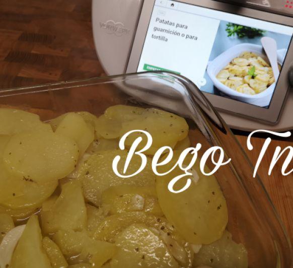 Patatas para guarnición en Thermomix®